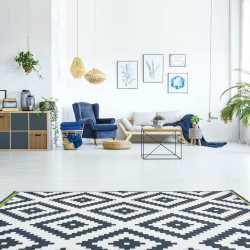 Printing on a linoleum rug 3s