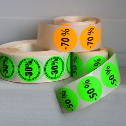 Stickers in rolls 6